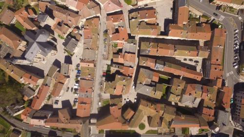 patrimoine village vue aerienne 3