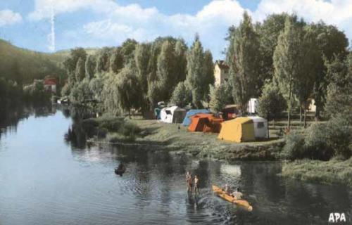 camping près du pont