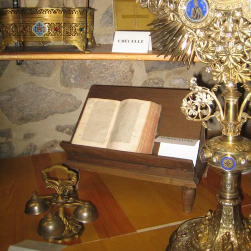 trésor de l'église
